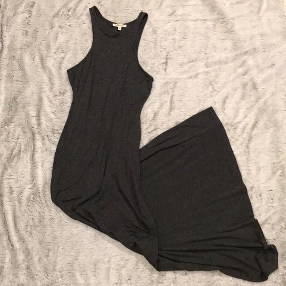 Rolla Coster Dresses & Skirts - Dark Heathered Gray Maxi Dress
